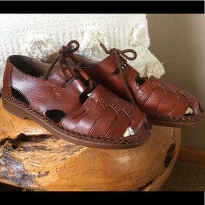 Rieker Leather Walking Sandals